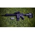 Crosse Sniper M16/AR15/M4 réglable en hauteur,profondeur et retractable 5 positions