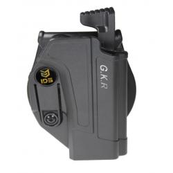 Etui-Holster GKR  2 rétentions pour Glock