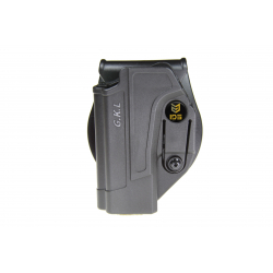 IDS 1 retention Adjustable OWB Holster for Glock /Left handed