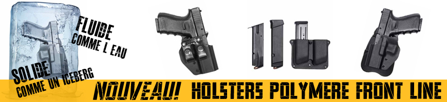 Nouveau Holster Polymere Front Line