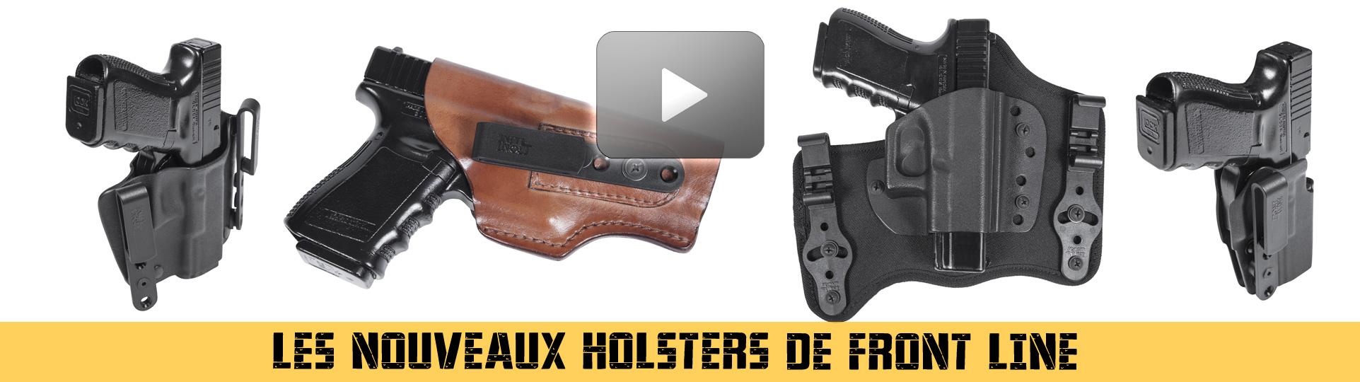 Nouveaux holsters front line 2018