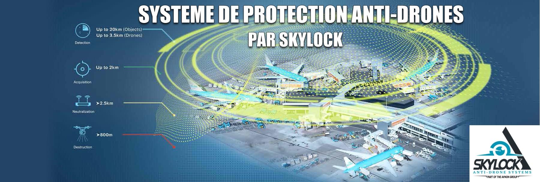 Skylock - Système anti drone