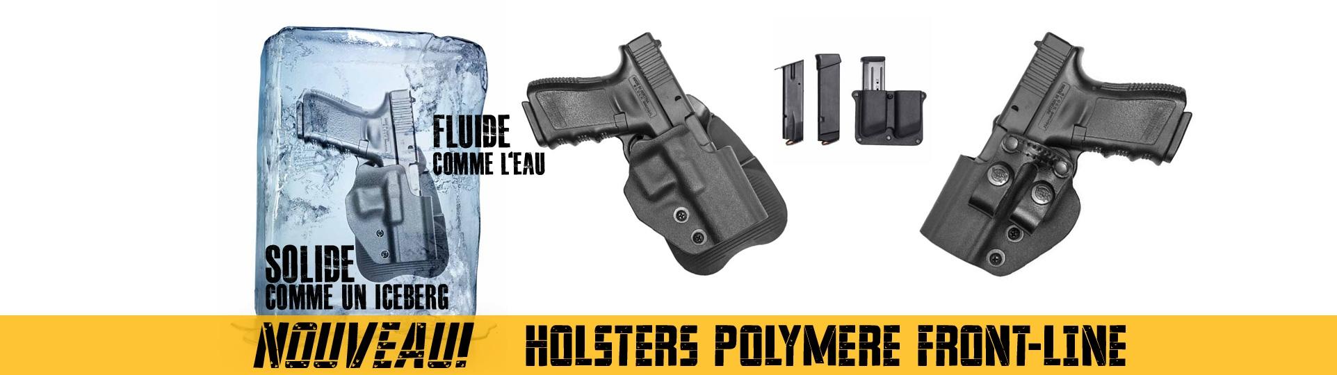 Nouveau Holsters Polymere Front Line